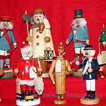 Dec.3. These imported wooden smokers were featured at a local Christkindlmarkt, which features traditional German gifts and holiday treats.